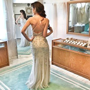 AHHHMAZING Beaded NEW Dress